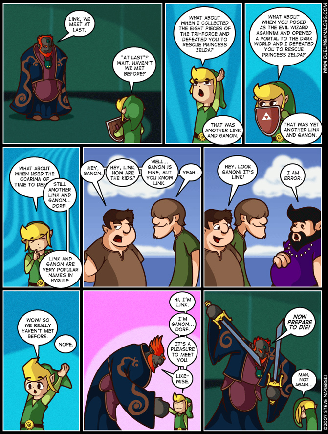 Link To The Past Life Experiences A Video Games Comic