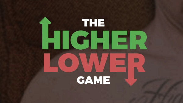 Higher Lower Game  Free online games at Gamesgamescom